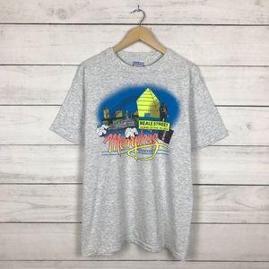 Vintage 1990s Memphis Blues Jazz T-Shirt